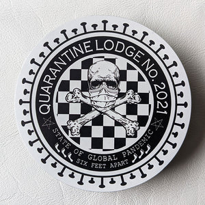 Quarantine Lodge No. 2021 Car Magnet