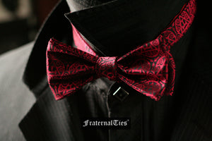 Royal Arch Masons Triple Tau Bow Tie | Sanguine - FraternalTies