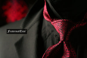 Royal Arch Masons Triple Tau Tie | Sanguine