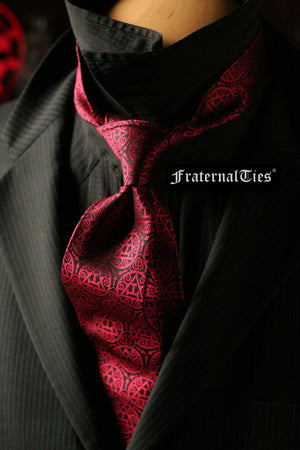 Royal Arch Masons Triple Tau Tie | Sanguine - FraternalTies