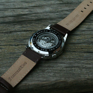 The Masonic watch leather straps