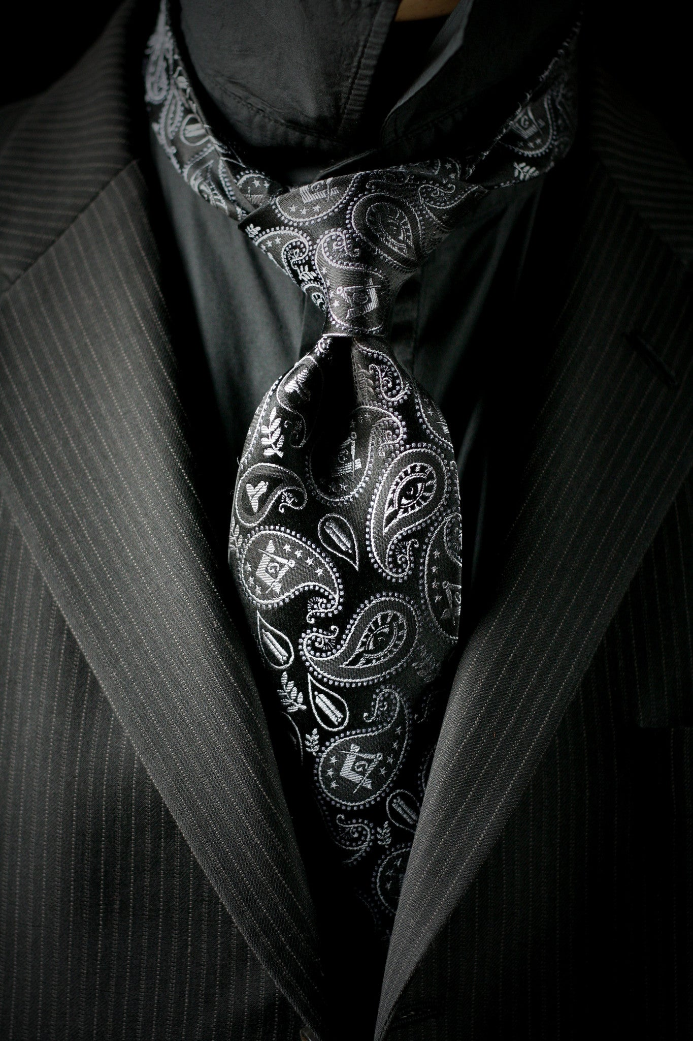 Masonic Paisley Tie - 2nd Edition - FraternalTies