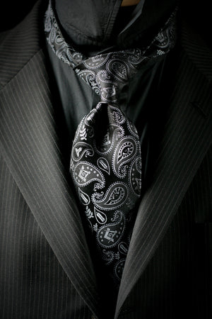 Masonic Paisley Tie - 2nd Edition