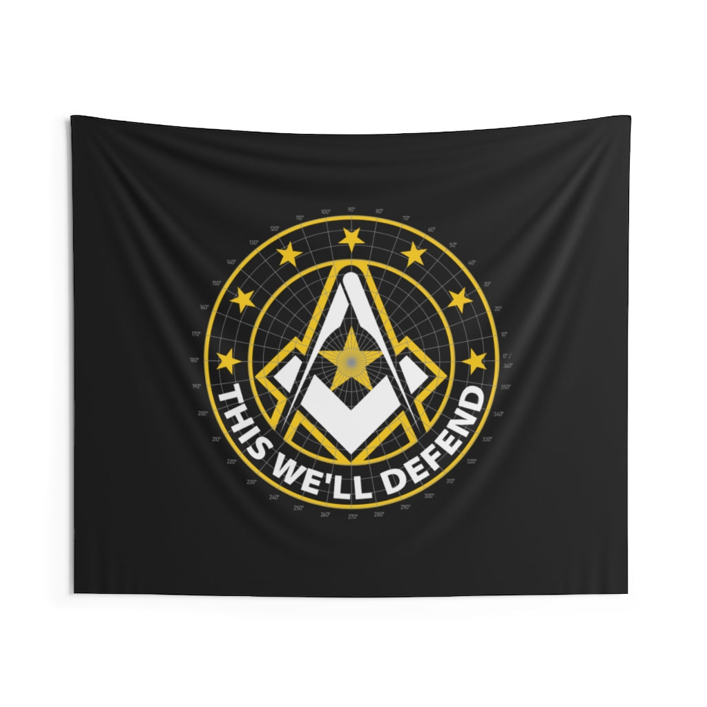 Army Mason Wall Tapestry