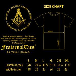 Whence Come You Masonic T-shirt