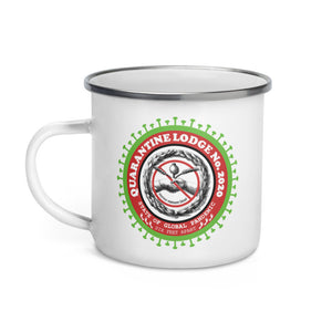 Enamel Mug Quarantine Lodge No. 2020