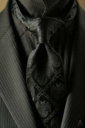 32° Scottish Rite Tie | Black Edition