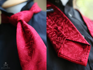 The Red Corinthian Tie