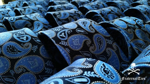 Masonic Paisley Tie - Version 1
