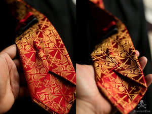 The Ordo Ab Chao Necktie - FraternalTies