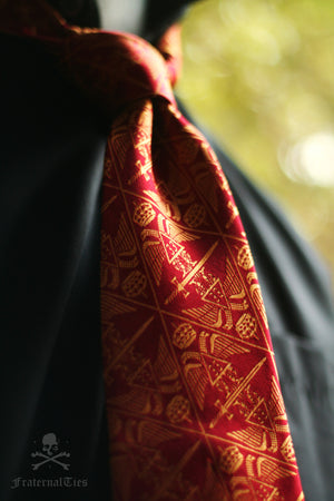 The Ordo Ab Chao Necktie