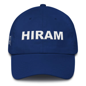 Hiram Masonic Cotton Cap