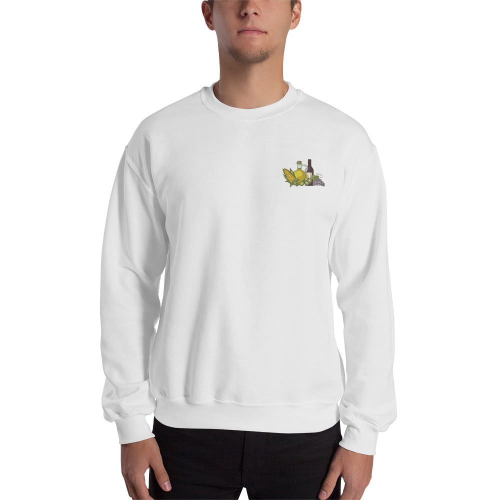 Corn, Oil, & Wine Sweatshirt