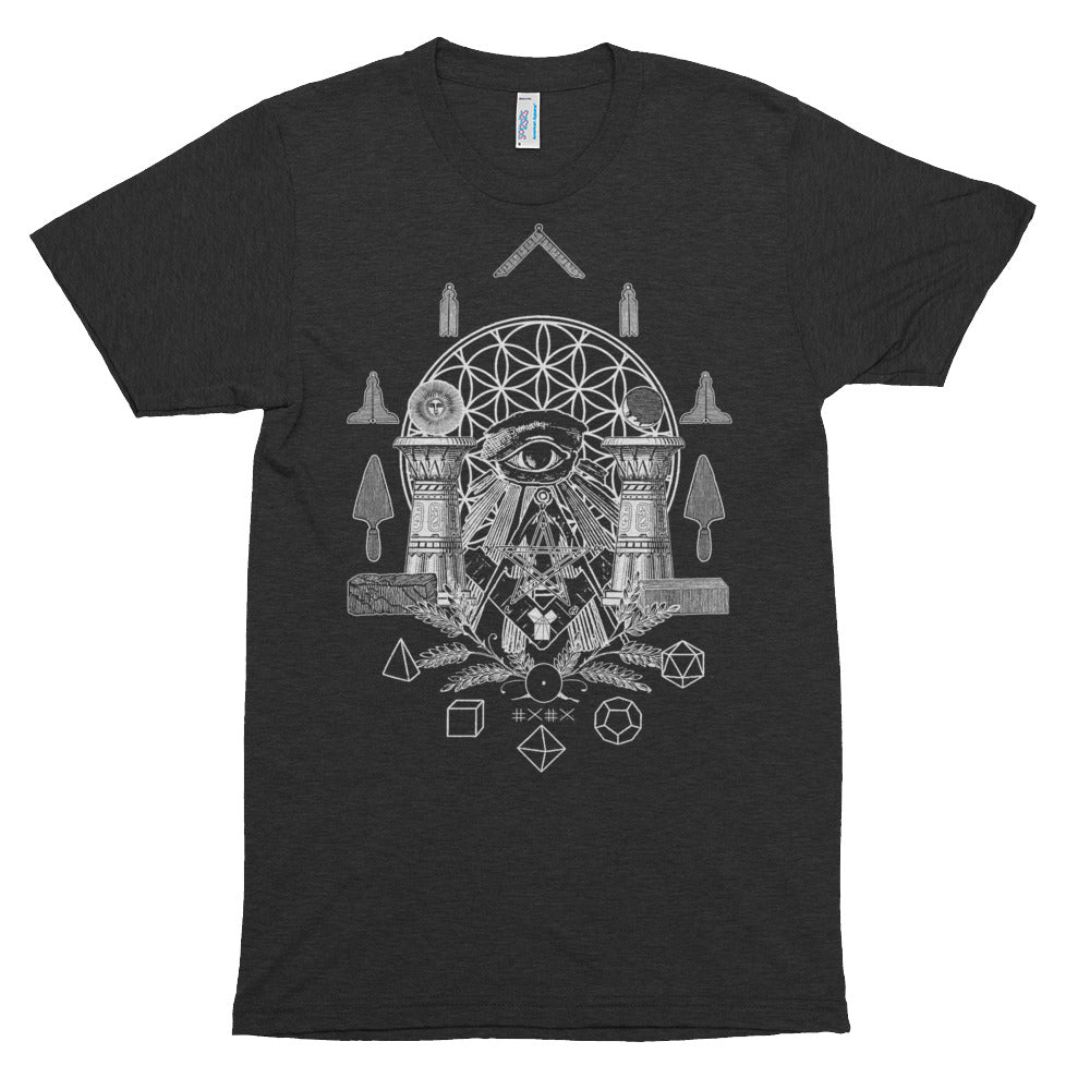 Sacred Geometry Tri-Blend Shirt