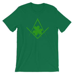 Green St. Patrick's Day Freemasons T-shirt