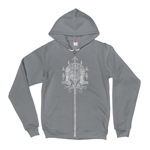 Sacred Geometry Sporty Hoodie sweater