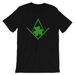 Black Heather St. Patrick's Day Freemasons T-shirt