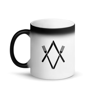 Magic Reveal Mug: Knife and Fork Degree