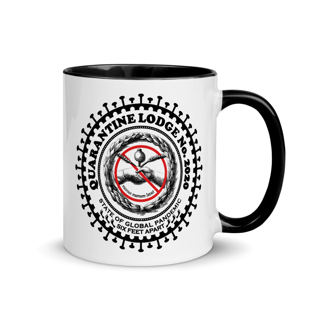 Quarantine Lodge No. 2020 Masonic Mug
