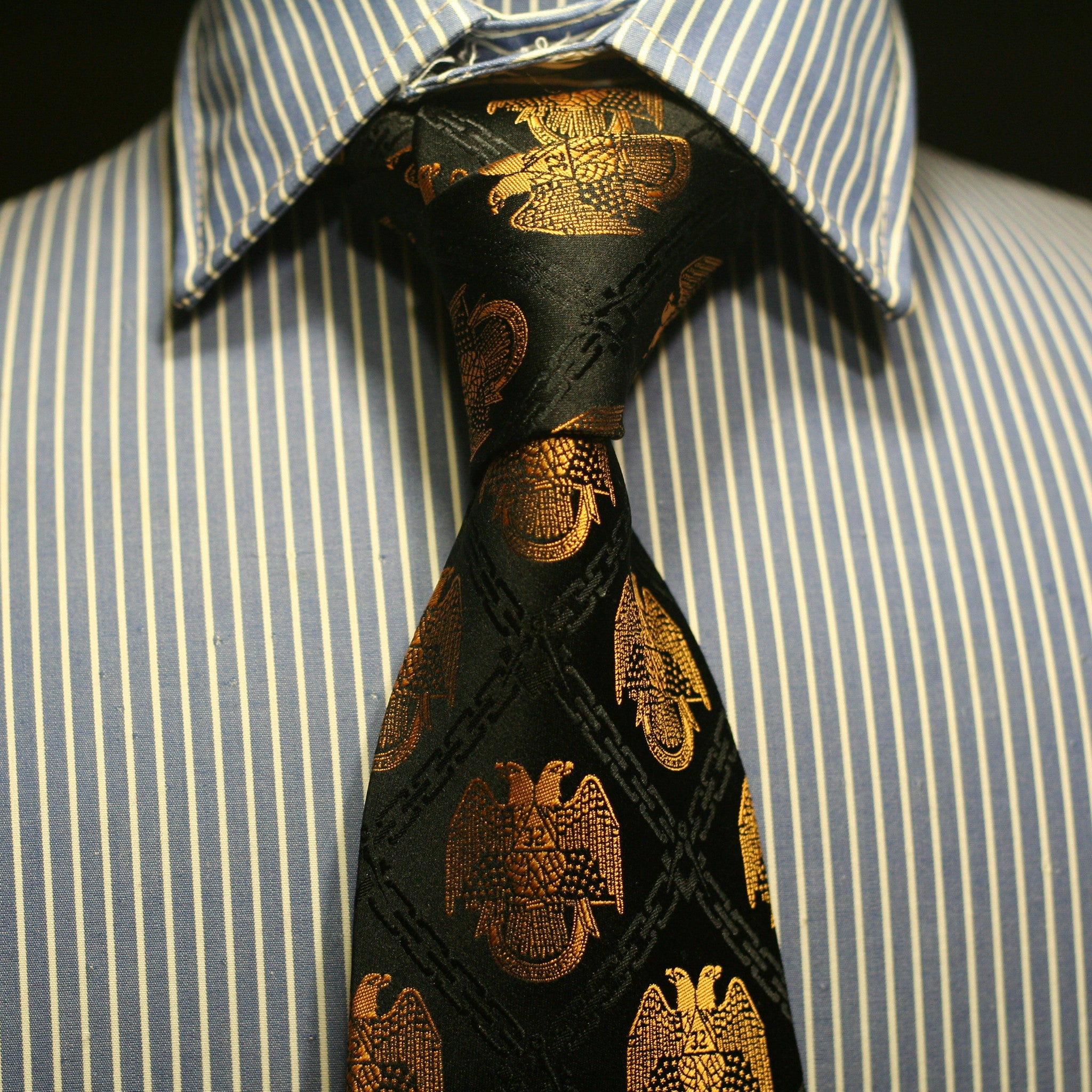 32nd Degree Scottish Rite necktie No. 1