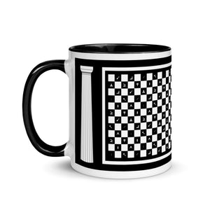 Checkered Floor & Working Tools Mug