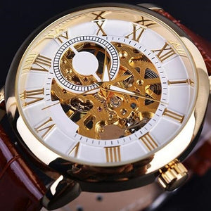 Engraving 3D Hollow Watch