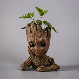 Cute Groot Man Planter Pot