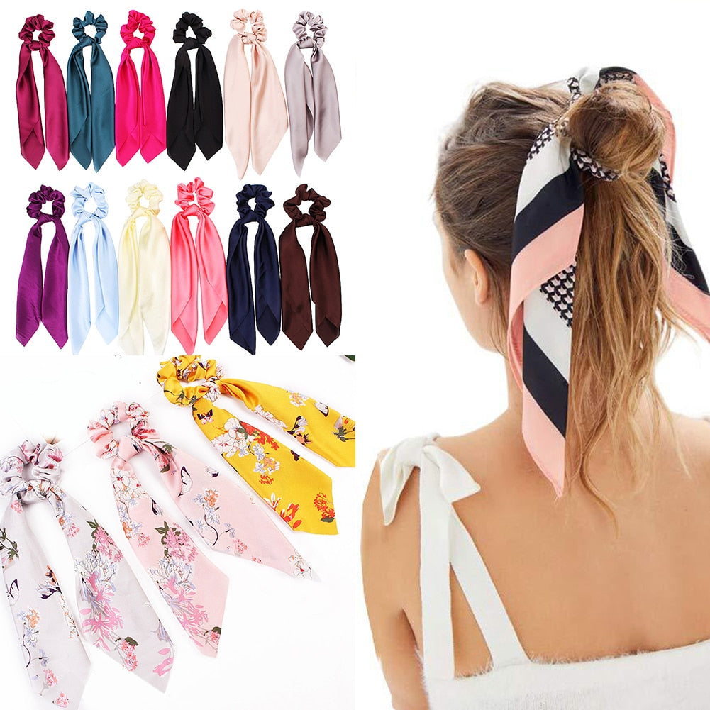 Ponytail Scrunchies Hair Bands