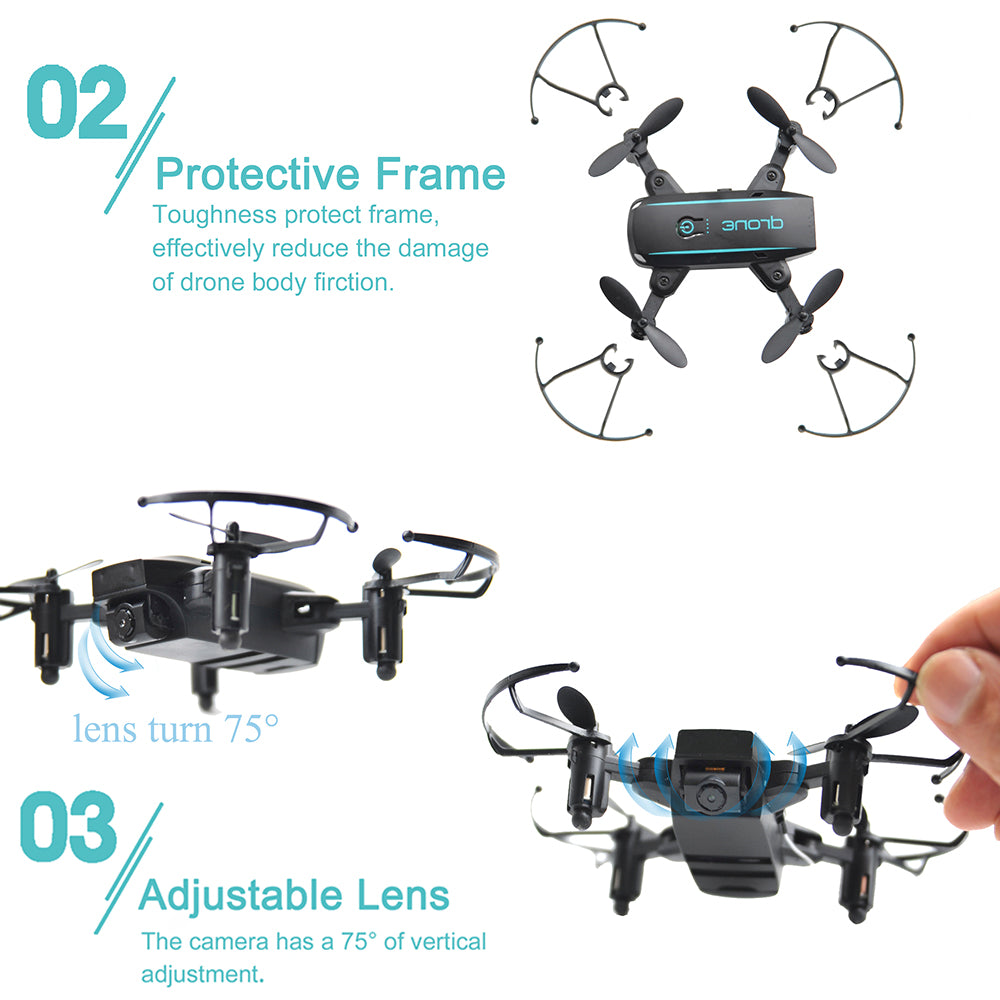 Cute Selfie Mini Drone with HD Camera