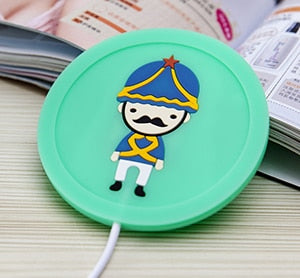 Creative Silicone Cartoon USB Hot Cup Heater