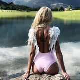 Lovely Wing Push Up Bikini Swimsuit