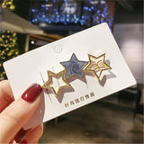 Elegant Round Star Hair Clips