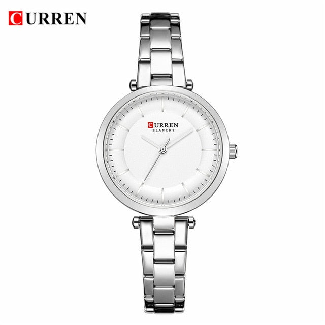 2019 CURREN Fashionable Bracelet Analog Watch for Women.