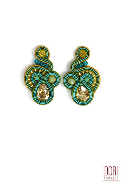 Capri Clip On Earrings