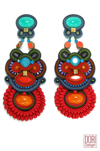 Fusion Statement Earrings