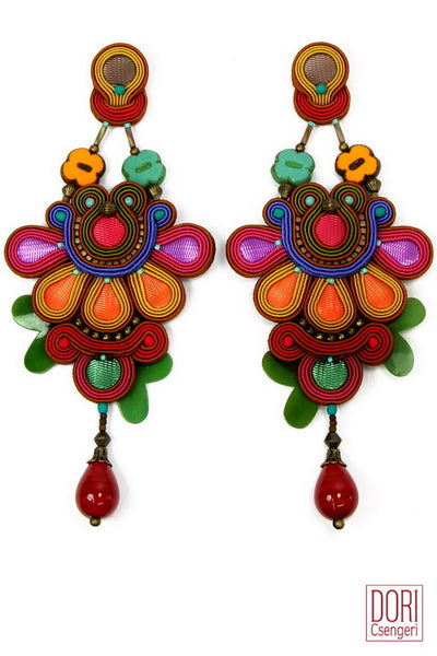 Delirio Statement Earrings