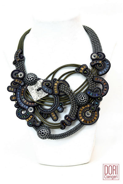 Dusk Bib Necklace