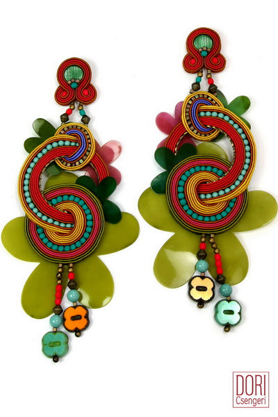 Delirio Floral Earrings