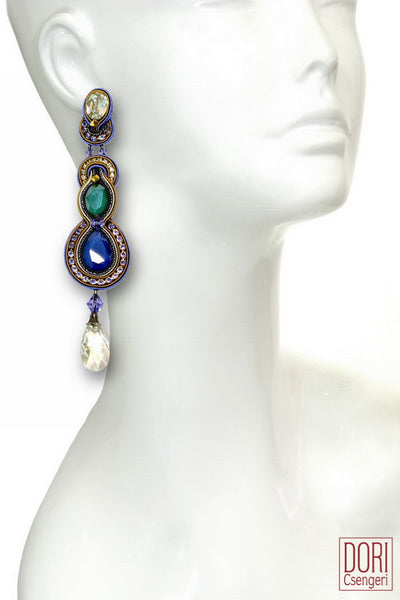Luminari Evening Earrings