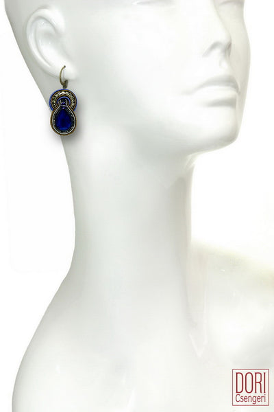 Luminari Blue Earrings
