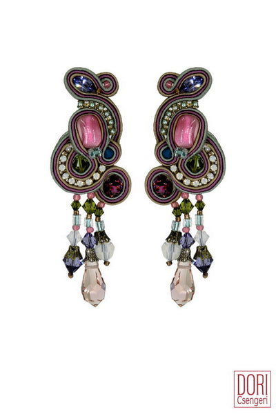 Alice Elegant Clip-on Earrings