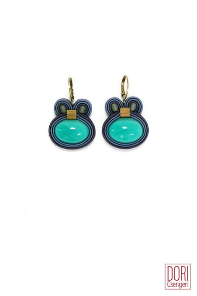 Fusion Turqruoise Earrings