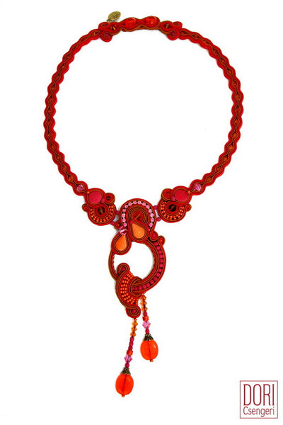 Alexa Red Necklace