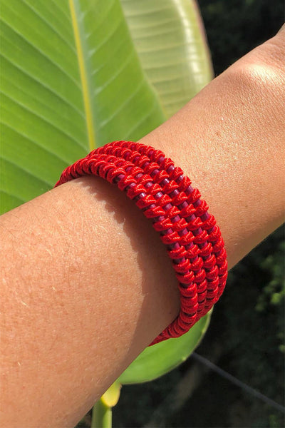 Amelie Trendy Red Bracelet