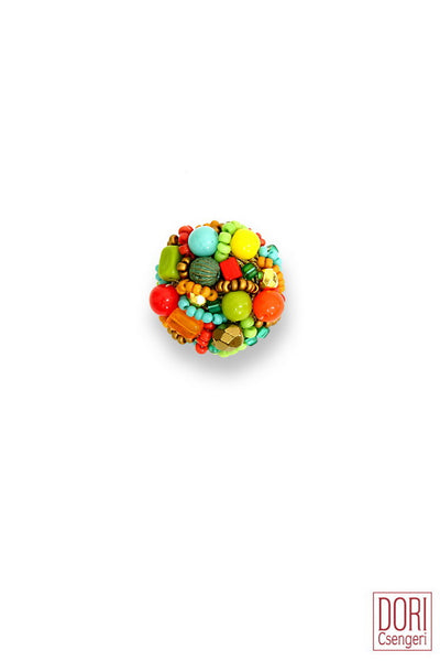 Carmel Casual Multicolor Ring