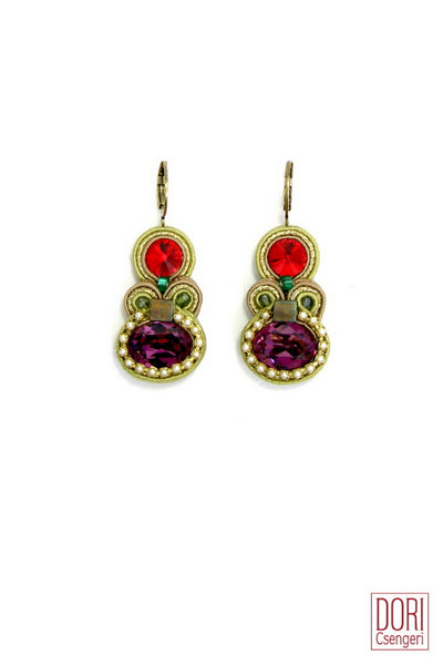 Maharajah Crystal Earrings