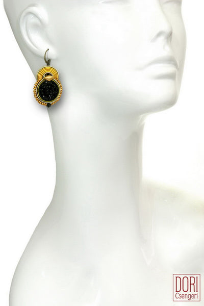 Bossa Nova Two Tone Earrings