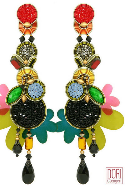 Bossa Nova Statement Earrings
