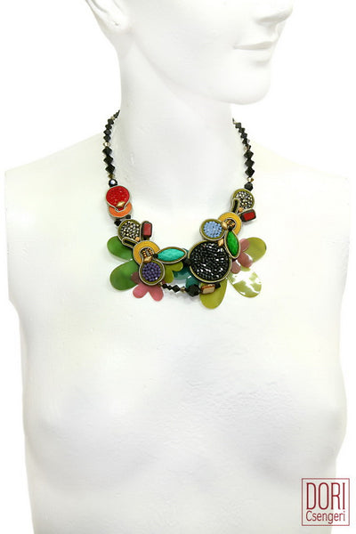 Bossa Nova Floral Necklace