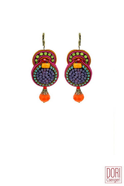 Cameron Jewel Tone Earrings